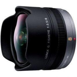 Panasonic Lumix G 8mm f/3.5 rybí oko