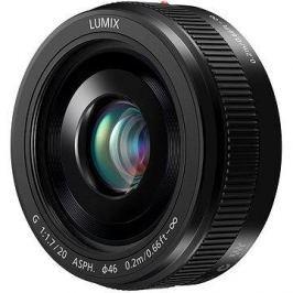 Panasonic Lumix G 20mm f/1.7 černý