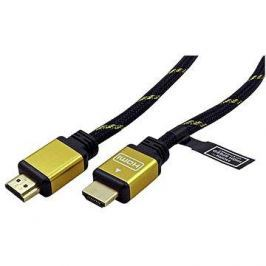 ROLINE HDMI Gold High Speed s Ethernetem (HDMI M <-> HDMI M), zlacené konektory, 10m