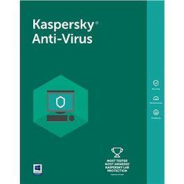 Kaspersky Anti-Virus 2018 obnova pro 5 počítačů na 12 měsíců (elektronická licence)