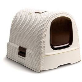 Curver Toaleta pro kočky Rattan 00615-P16