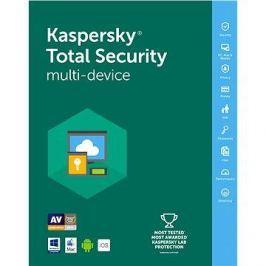 Kaspersky Total Security multi-device 2018 obnova pro 5 zařízení na 24 měsíců (elektronická licence)