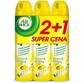AIRWICK Spray 4in1 Citrón&Ženšen 240ml 2+1