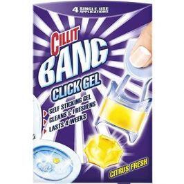 Cillit Bang Click Gel Citrus Fresh gelový čistič WC 4 x 5 g