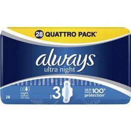 Always hygienické vložky Ultra Night 28