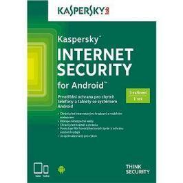 Kaspersky Internet Security pro Android pro 3 zařízení na 12 měsíců