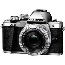 Olympus E-M10 Mark II silver/silver + ED 14-42mm EZ