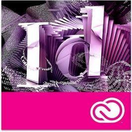Adobe InDesign Creative Cloud MP ML (vč. CZ) Commercial (1 měsíc) (elektronická licence)