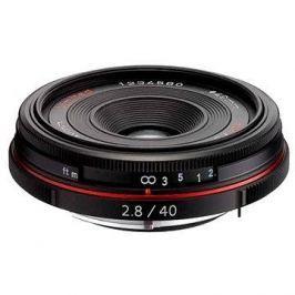 PENTAX HD DA 40mm f/2.8 Limited. Black