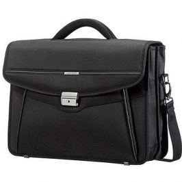 Samsonite Desklite Briefcase 2 Gussets 15.6'' Black