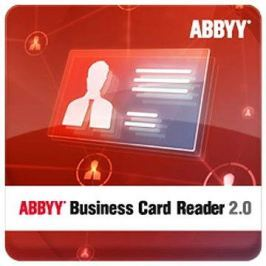 ABBYY Business Card Reader 2.0 for Windows (elektronická licence)