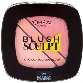 ĽORÉAL PARIS Blush Sculpt Trio Contouring Blush 201 Soft Rosy