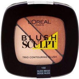 ĽORÉAL PARIS Blush Sculpt Trio Contouring Blush 102 Nude Beige