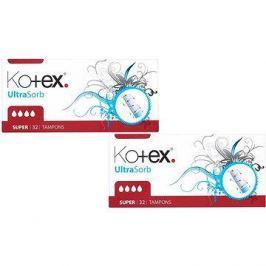 KOTEX Ultra Sorb Super (2x32 ks)