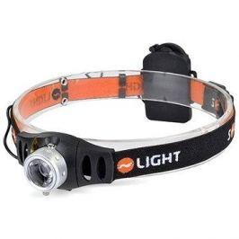 Solight čelová LED svítilna stmívatelná, 3W Cree
