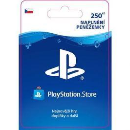 PlayStation Store - Kredit 250 Kč - CZ Digital