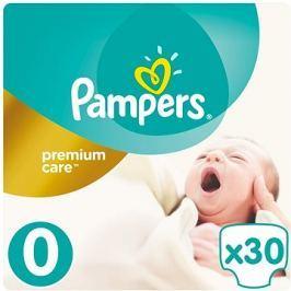 PAMPERS Premium Care Newborn vel. 0 (30 ks)