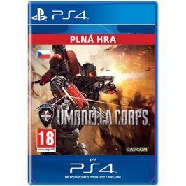 Umbrella Corps - PS4 CZ Digital