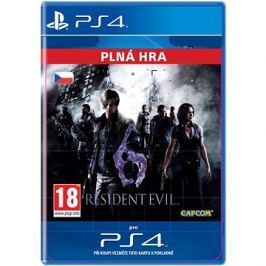 Resident Evil 6 - PS4 CZ Digital