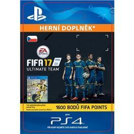 1600 FIFA 17 Points Pack - PS4 CZ Digital