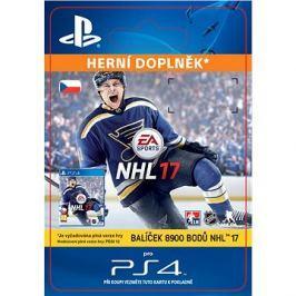 8900 NHL 17 Points Pack - PS4 CZ Digital