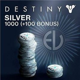 1000 (+100 Bonus) Destiny Silver - PS4 CZ Digital
