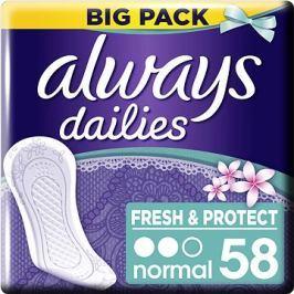 ALWAYS Fresh&Protect Normal Fresh intimky 58 ks