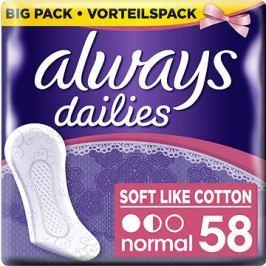 ALWAYS Soft Like Cotton Normal intimky 58ks