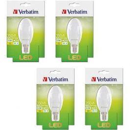 Verbatim 4.5W LED E14 2700K set 4ks