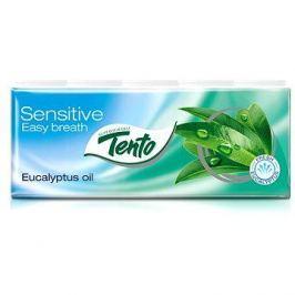 TENTO Sensitive Easy breath Eucalyptus oil kapesníčky (10x10ks)
