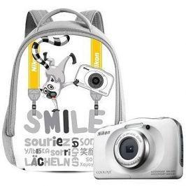 Nikon COOLPIX W100 bílý backpack kit