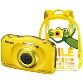 Nikon COOLPIX W100 žlutý backpack kit