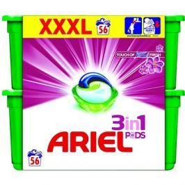 ARIEL Touch of Lenor 3in1  56 ks