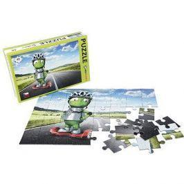 Alza Puzzle 40 dílků - Mimozemšťan Alza na Gyroboardu