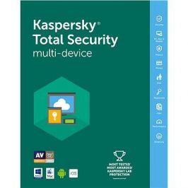 Kaspersky Total Security multi-device 2018 obnova pro 4 zařízení na 24 měsíců (elektronická licence)