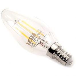 TESLA CRYSTAL LED RETRO svíčka E14 4W 2700K