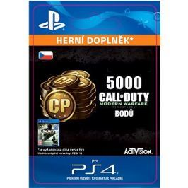 5,000 Call of Duty: Modern Warfare Remastered - PS4 CZ Digital