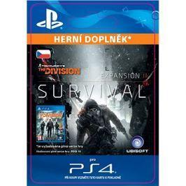 TOM CLANCY'S THE DIVISION Survival - PS4 CZ Digital