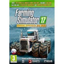 Farming Simulator 17 oficiální rozšíření BIG BUD
