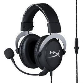 HyperX Cloud Gaming Headset stříbrná