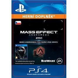 2150 Mass Effect: Andromeda Points - PS4 CZ Digital