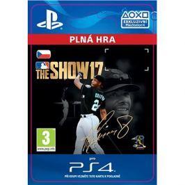 MLB The Show 17 - PS4 CZ Digital