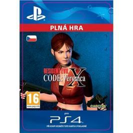 Resident Evil Code: Veronica X - PS4 CZ Digital