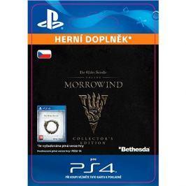 The Elder Scrolls Online: Morrowind Collectors Edition Upgrade - PS4 CZ Digital