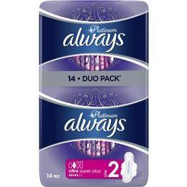 ALWAYS Platinum Ultra Super Plus Duopack 14 ks