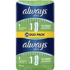 ALWAYS Ultra Standard Duo pack 24 ks