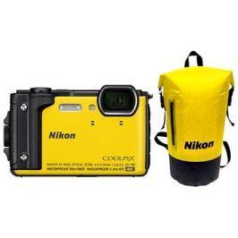 Nikon COOLPIX W300 žlutý Holiday Kit