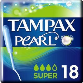 TAMPAX Pearl Super (18 ks)