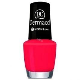 DERMACOL Neon Nail Polish Love č.12