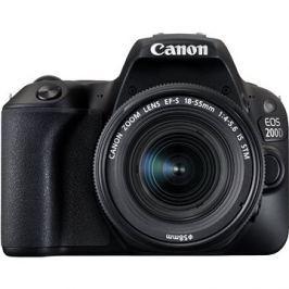 Canon EOS 200D černý + 18-55mm IS STM
